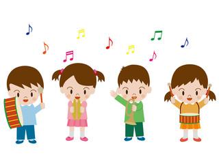 子供の演奏