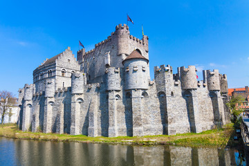 Gravensteen - Castle of the Counts; Ghent, Belgium.