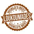 Loukoumades stamp