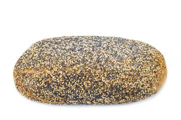 Pan cubierto de semillas de sésamo amapola y girasol
