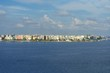 Male city skyline