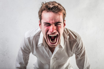 Enraged Guy