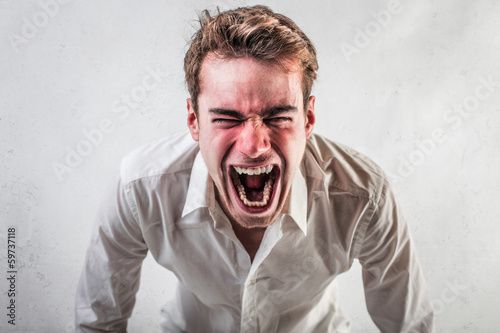 Enraged Guy