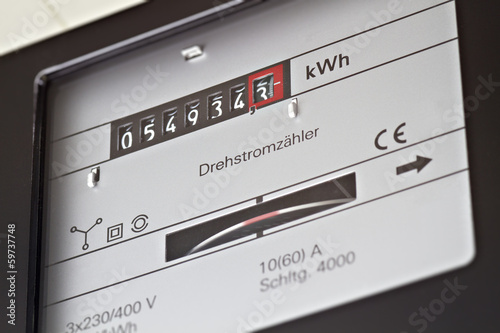 Stromzähler - 59737748
