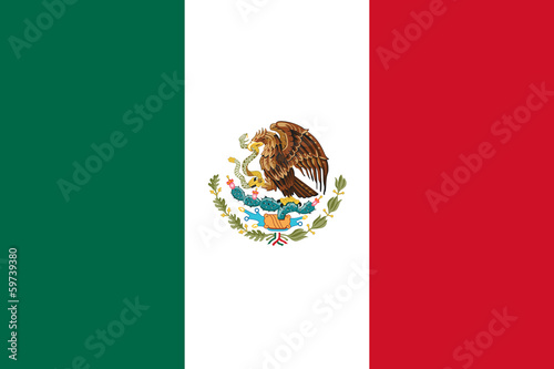 Foto op Canvas Mexico Mexico Flag