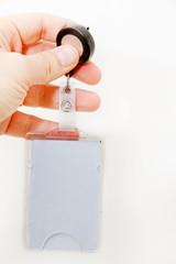 Elektronischer Schlüssel und Ausweiskarte