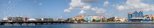 Otrobanada and Punda the capital city of Curacao