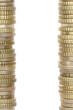 Rahmen aus Euro Münzen mit Copyspace