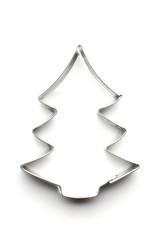 Christmas tree dough cut shape