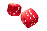Big gamble with international currency dice