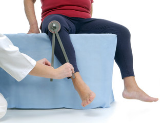Measurement of hip joint external rotation