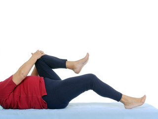 Functional test of hip joint contraction