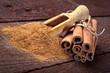 Cinnamon sticks and cinnamon powder - 59745176