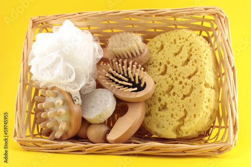 Basket of Goods for personal care
