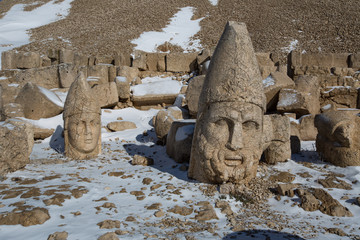 Commagene Kingdom at Mount Nemrut Turkey