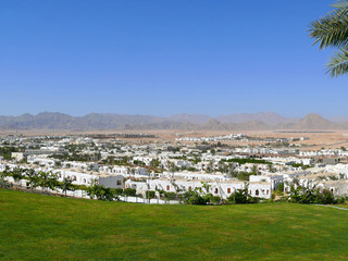 SHARM EL-SHEIKH, EGYPT - NOVEMBER 7, 2008: View of the city.