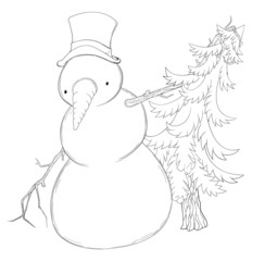 Snowman Spruce