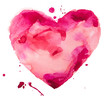 watercolor heart. Concept - love, relationship, art, painting - 59750796