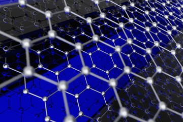 Graphene Structure Illustration