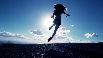 Female In the Air