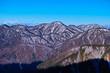 塔の岳からの西丹沢山脈