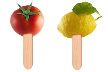 Gelato di Pomodoro e Limone