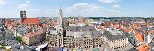 Stadtzentrum von München