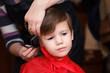 Cute boy haircut