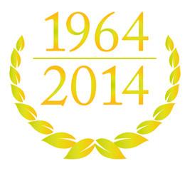 jubiläum 1964 2014 lorbeer