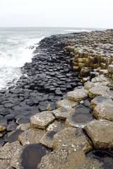 ジャイアンツコーズウェイ、六角形の岩