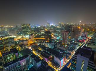 Bangkok de nuit, Thaïlande