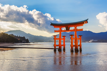 Great floating gate (O-Torii) in Miyajima