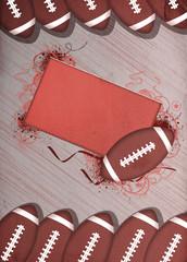 American football background