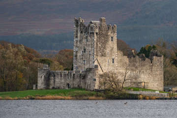 Ross Castle,Killarney National Park,Ireland