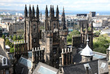Edinburgh in Scotland, UK