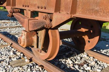 Ruedas de Vagon de Tren