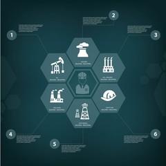 Industry concept,vector