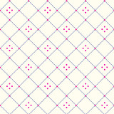 Seamless Pattern with Rhombus Structure Texture