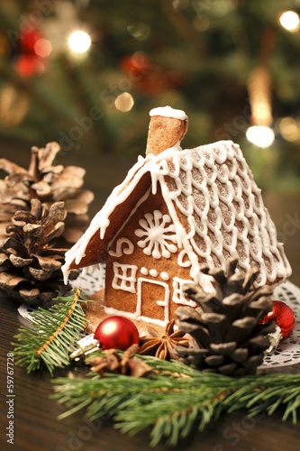 Gingerbread house - 59767728