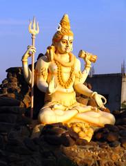 Statue of Lord Shiva in Karnataka, India