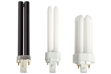 Compact fluorescent lamps.