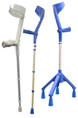 Invalid walking sticks