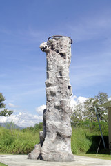 rock climbing wall, recreation in hotel and resort