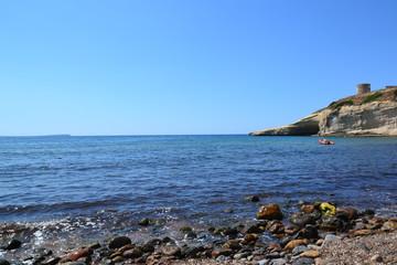 Beach Santa Caterina di Pittinuri - Sardinia, Italy