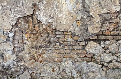 Parete mista pietra e mattoni - Mattoni gasbeton per esterno ...
