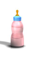 Babyflasche Plastik