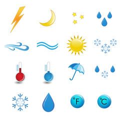 Weather icon set expirience