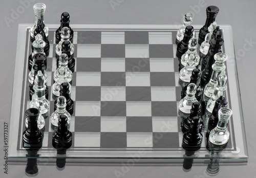 Mixed Chess Pieces