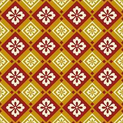 seamless chinese style fabric pattern