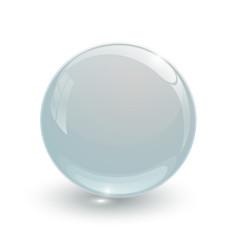 Crystal glassy ball